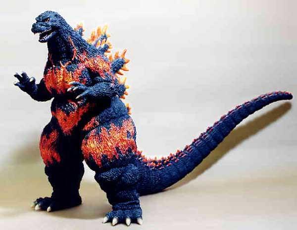 Database Godzilla 1995